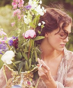 Keira Knightley, Cecilia Tallis, - Atonement more offers from the famous brands, feel free to visit: www. Keira Knightley, Keira Christina Knightley, Elisabeth Swan, Atonement Movie, The Last Summer, Pride And Prejudice, Period Dramas, Film Stills, Flower Power
