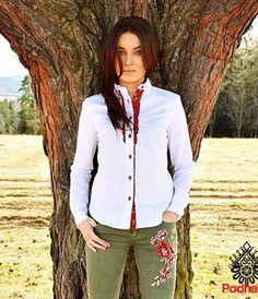 Ona - Podhaler - odzież góralska, folk, haft, parzenica