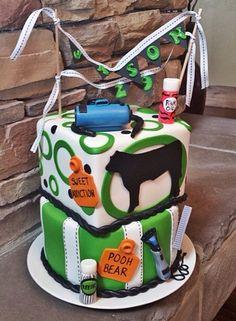 Show steer cake! #stockshowlife