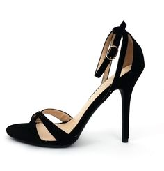 I love Black Heels By Wild Diva Lounge. This is a beautiful and sexy Wild Diva Lounge pair of heels, the heels are so sexy, attractive and comfortable for any occasion. Shoes are ship without Shoebox.