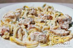 Sandy's Kitchen: Not Your Mama's Chicken Alfredo