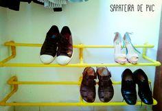 #TransforLar: Organize seus sapatos! Faça sua própria sapateira.