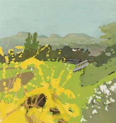 Fairfield Porter, View Over the Baseball Field