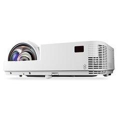 NEC M353WS - 3D WXGA 720p DLP Projector with Speaker - 3500 ANSI lumens