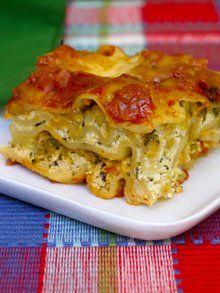 Veggie Lasagna in the crock pot