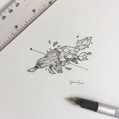 "42.6k Likes, 162 Comments - K E R B Y   R Ø S A N E S (@kerbyrosanes) on Instagram: ""Geometric Beasts | Platypus"""