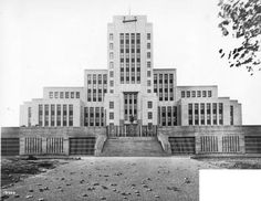 New City Hall, Vancouver B.C. 1936 City of Vancouver Archives