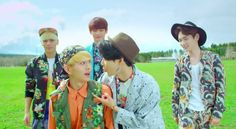 SHINee head outdoors for hot air balloon rides and barbecue in short PV for Japanese single 'Lucky Star' | allkpop