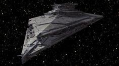 Star Wars VII - The Force Awakens / Star Destroyer