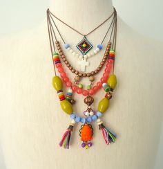 Nice boho jewelry !!colorful!!
