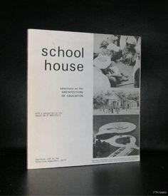 Aldo van Eyck, Saul Steinberg a.o#SCHOOL HOUSE#1970,nm