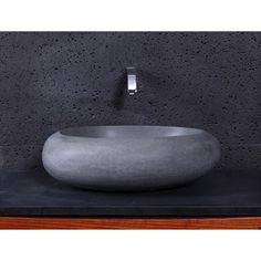 Virtu+USA+Athena+Vessel+Sink+-+Andesite