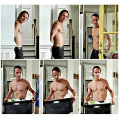 What wouldn't I do for ringing on his door and having a shirtless Rick infront of me! <3<3<3