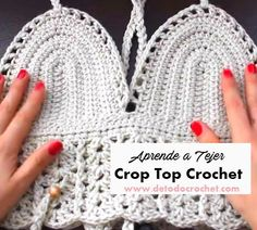 Cómo tejer crop top crochet