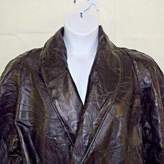 Women's Leather Jacket Plus Size 3XL Black Italian Stone Design Navarre #Navarre #BasicJacket