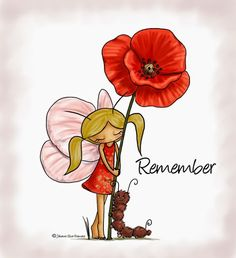 Emo, Poppies, Fairy, Caterpillar, Colouring, Stamps, Cards, Painting, Illustrations