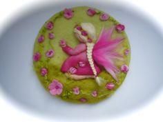 Bloem-kind Fairy lente foto wandtapijten NAT vilten door FilzArts