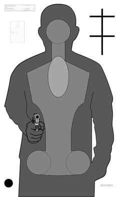 OPOTA-RQT1 Outdoor Shooting Range, Law Enforcement Training, Bow Target, Range Targets, Tactical Training, Shooting Targets, Job 1, Target Practice, Guns And Ammo