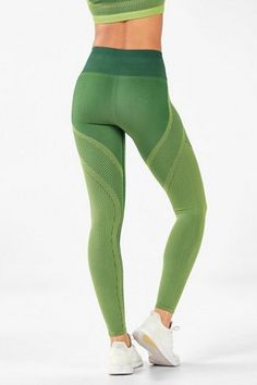 When it comes to leggings, we don't mesh around! This number features our fave, max-compression fabric and mesh inserts for extra breathability and style. Womens Workout Outfits, Fitness Outfits, Fitness Wear, Sport Fashion, Fitness Fashion, Exercise Clothes, Exercise Equipment, Workout Clothing, Fitness Clothing