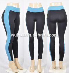 5bb15ec0cd45b Source 2016 New Fashion Contrast fitness leggings &yoga pants Women on  m.alibaba.com