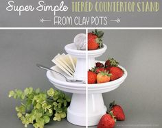 Simple Tiered Countertop Stand