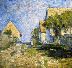 Sunny HousesChristian Rohlfs- 1894