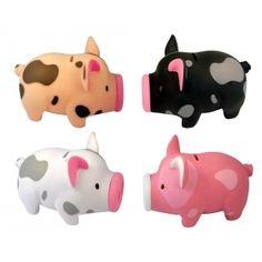 cute piggy banks - paint job. Smaller dots though.