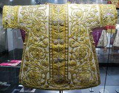 Орнамент и стиль в ДПИ - Орнамент барокко. Вышивка и золотное шитье из монастыря Клостернойбург, Вена