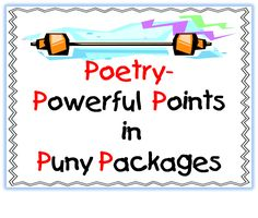 First Grade Wow: Poetry Power Activities