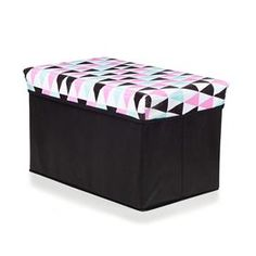 Pink Collapsible Storage Box