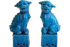 Chinese Foo Dogs, Pair