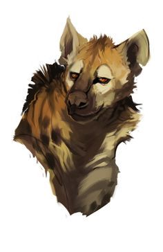 Found this on my dropbox! A hyena portrait doodlypaint thing from a few months back. Feel freeee to leave some animal/people/thing suggestions in my ask box! :) <<so pretty Animal Sketches, Animal Drawings, Cool Drawings, Illustrations, Illustration Art, Wild Dogs, Monster Art, Pics Art, Creature Design