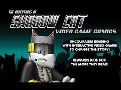 Could a Video Game Help Autistic Children? That gray feline avatar — that's Shadow Cat. He's a virtual comic book character that an early-stage Cleveland startup is turning into a tool to improve cognitive training, performance data collection and research for autism spectrum disorders.