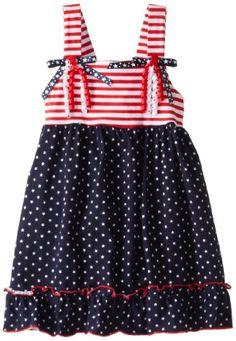 Good Lad Baby-Girls Infant Knit 4th Of July Stripe Dots Sundress, Red, 12 Good Lad http://amzn.com/B00B1PIW5S/?tag=apparels16-20