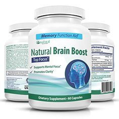 Natural Brain Booster Pills, Super Memory and Focus Supplement with Ginkgo Biloba Extract and St. John's Wort Herbal - Mind & Energy booster by Natural T & P (60 caps/1 mo. supply)... Herb coffee www.stimulifecoffee.com