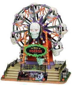 lemax spooky town 2013 | Lemax Spooky Town Wheel Of Horror – Nib | horrorSniped.com | Rare ...