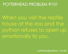 Potterhead Problems....so it's not just me...lol