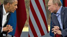 BLOG DO ARRETADINHO: Obama e Putin falam ao telefone durante uma hora