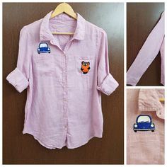 Buy yours today: Patched - Pink Sh..., visit http://ftfy.bargains/products/patched-pink-shirt-car-panda?utm_campaign=social_autopilot&utm_source=pin&utm_medium=pin  #amazing #affordable #fashion #stylish
