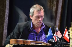 Hugh Laurie, Manhattan Center Ballroom, NYC, Fall 2012