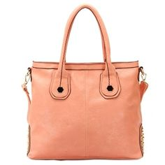 #4. Mom loves spring colors like the Robert Matthew Hanna Shoulder Tote in peach!