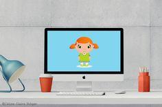 """Comic-Girl"" Grafik - Céline Claire - Graphic Design & Digital Art #illustration #comic #comicgirl #girl #digitalpainting"
