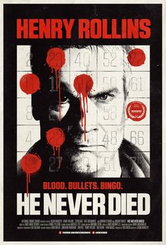 Henry Rollins is an immortal in He Never Died trailer. Watch it here