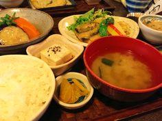京都 - ここら屋 ミックス定食