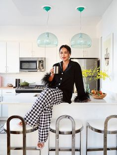 inside Chillhouse Founder Cyndi Ramierz's New York apartment Clean Couch, New West, One Bed, Hotel Interiors, Design Within Reach, West Village, Bedroom Apartment, York Apartment, Home Photo