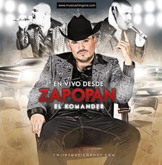 El Komander - Fiesta de Jefes En Vivo Desde Zapopan (2012) (Mini CD) - Baja música gratis