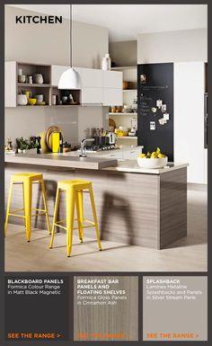 Horgans dining table laminex colour palette jericho for Laminex kitchen designs