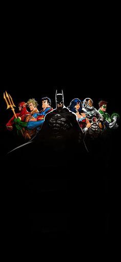Batman Wallpaper, Wallpaper Space, Dark Wallpaper, Iphone Wallpaper, Justice League Superheroes, Justice League Dark, Batman Gotham Knight, Superman, Justice Magazine