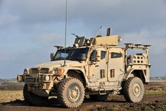 Husky is a protected support vehicle, providing a highly mobile and flexible load carrying vehicle.