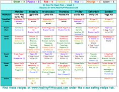 How to Prep your Week for Success. 21 Day Fix Meal Plan www.HealthyFitFocused.com